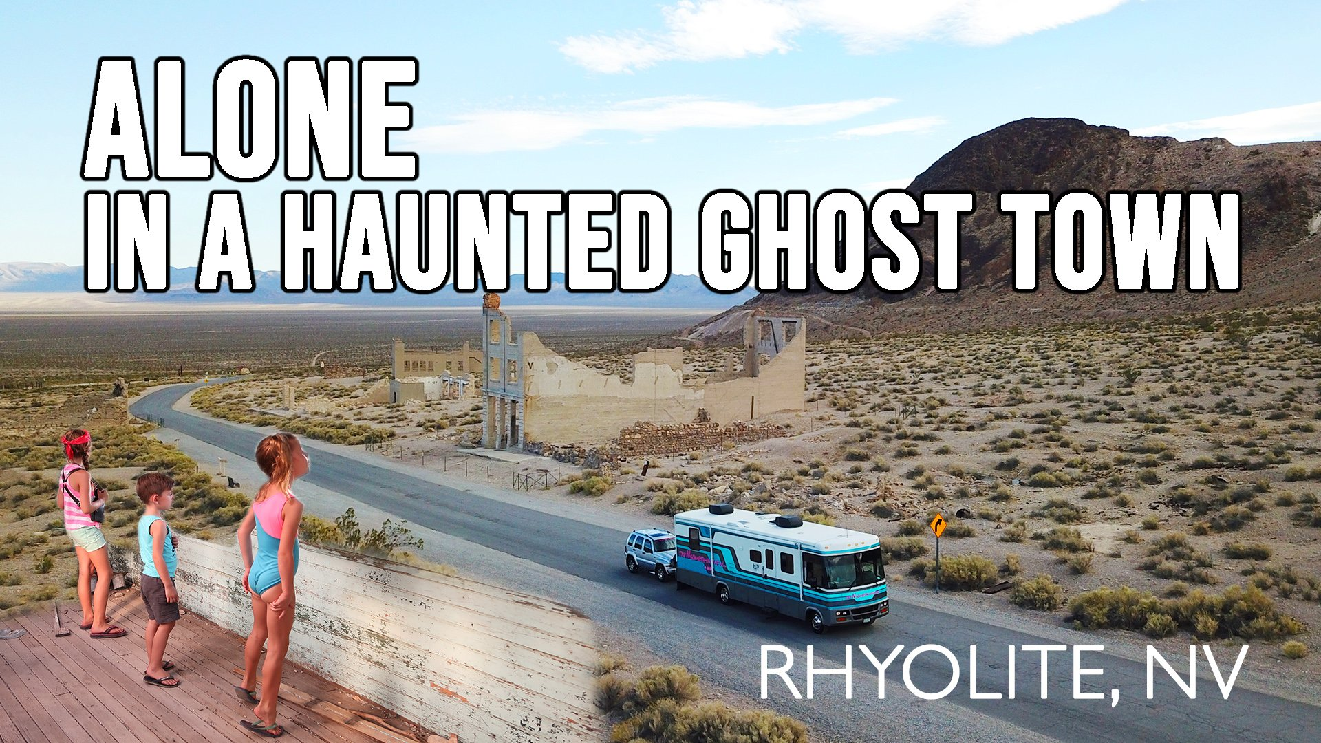 We found a ghost town!