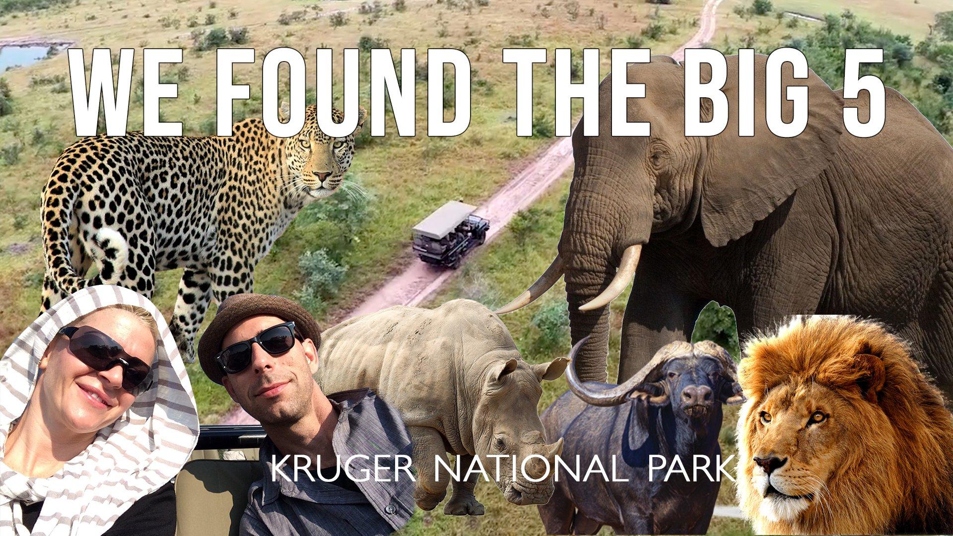 We Found the BIG 5 On Safari