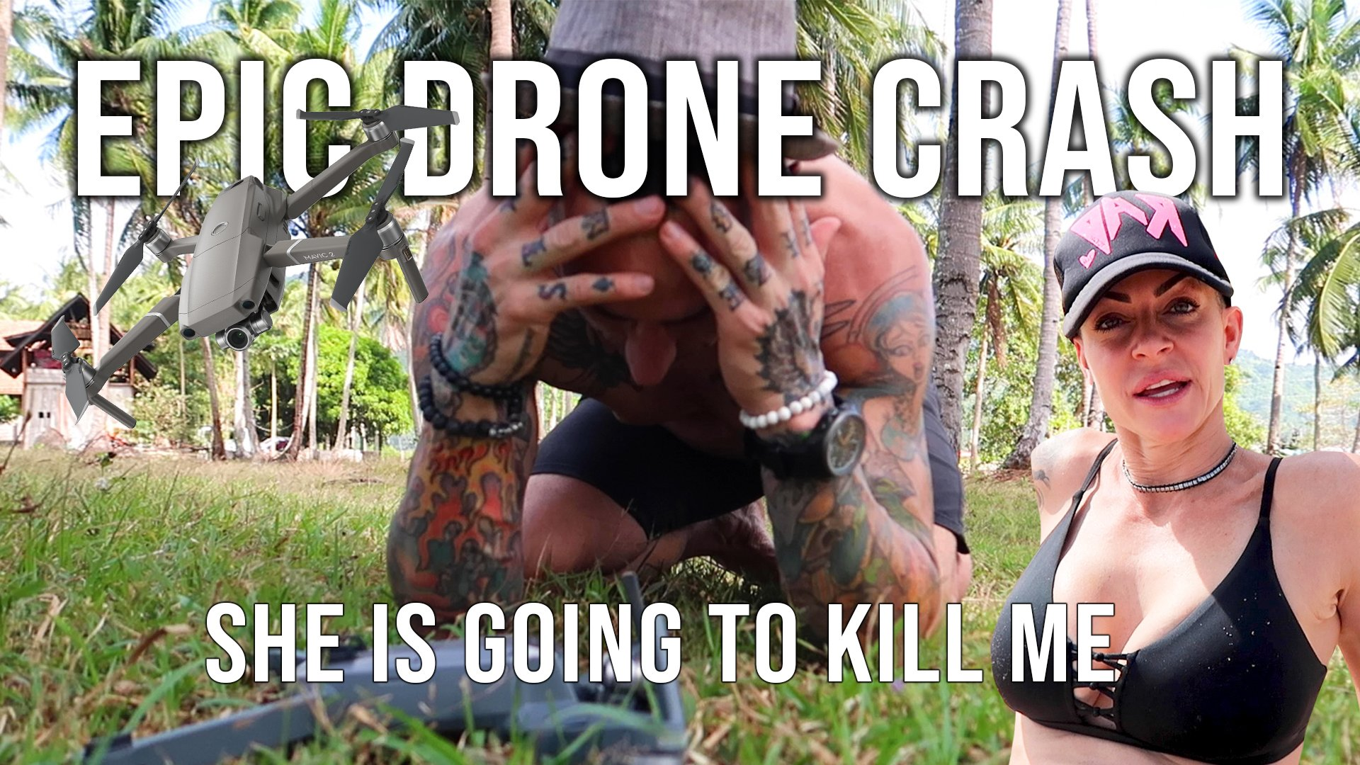 Oh No! I Crashed the Drone :(