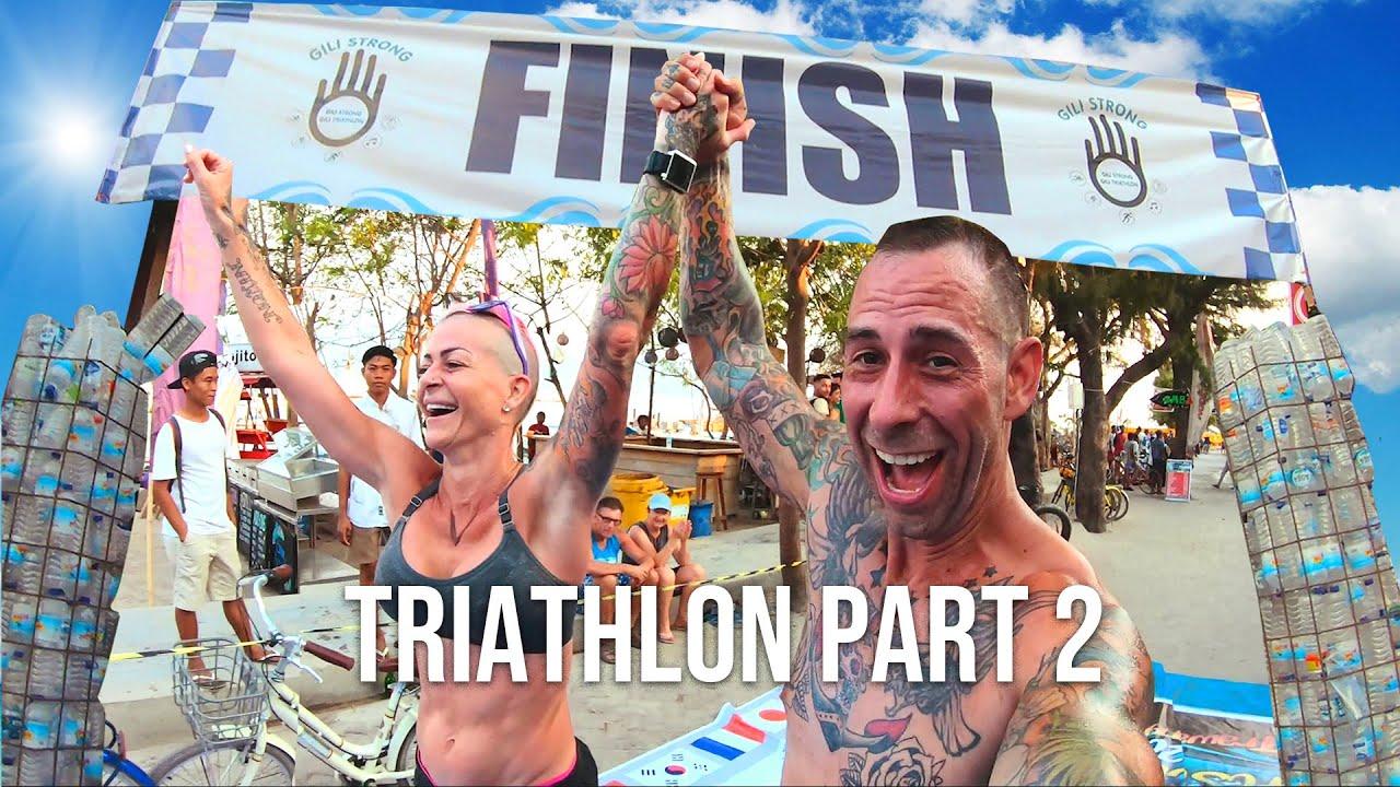 GILI T TRIATHLON- IT'S RACE DAY! OMG