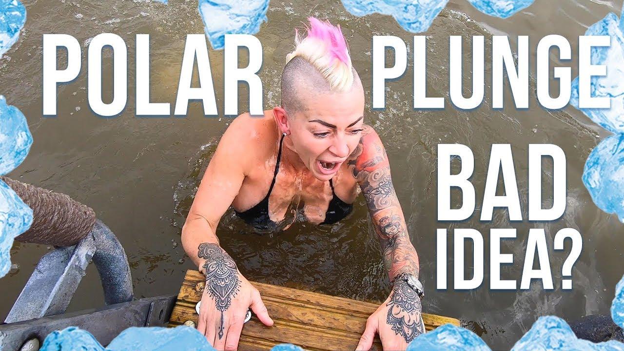 polar plunge in Finland