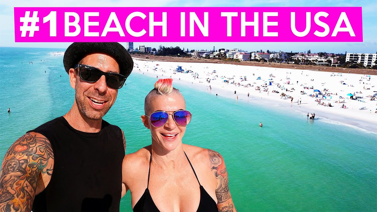 SIESTA KEY BEACH! #1 IN USA