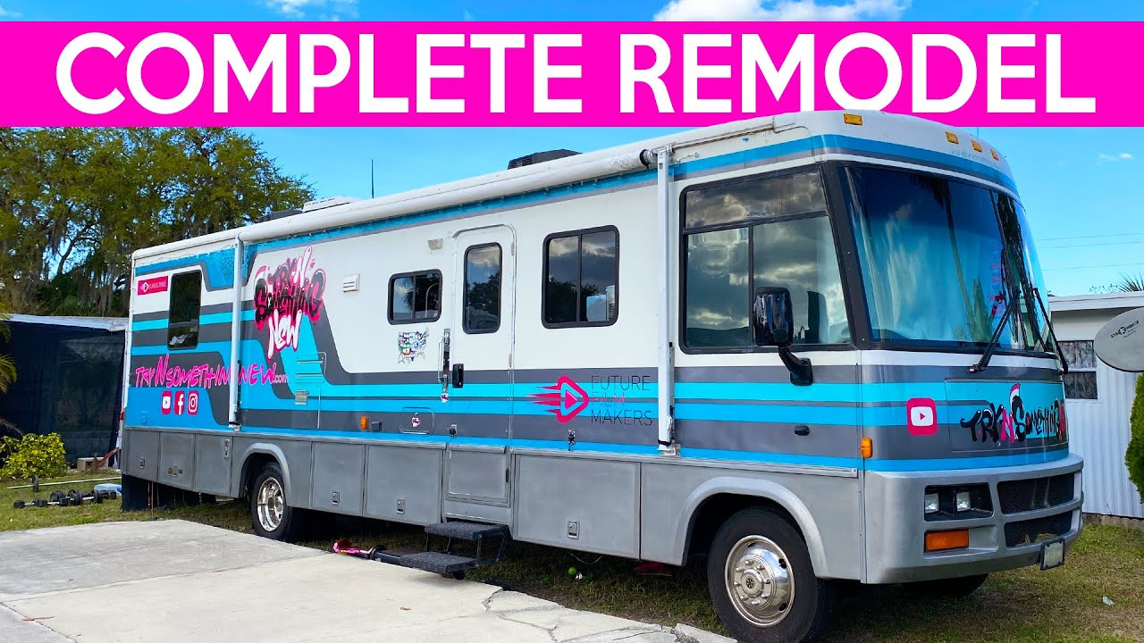 RV NEWBIES-WHY WE BOUGHT AN OLD RV